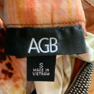 AGB Dresses - AGB SUMMER DRESS! BEADED KNECK LINE!